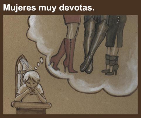 devotas, mujeres