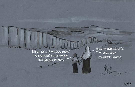 muro de seguridad