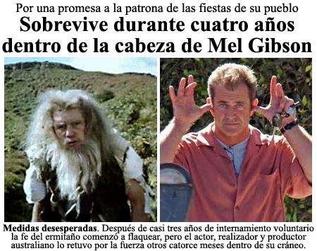 En la cabeza de Mel Gibson