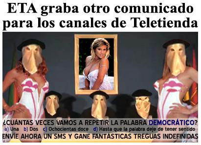 Comunicado para Teletienda