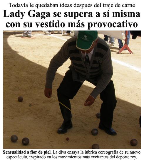Lady Gaga se supera a sí misma