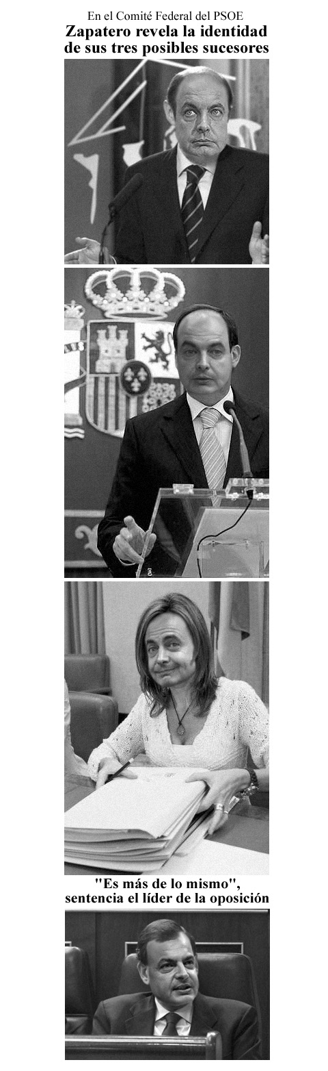 Sucesores de Zapatero