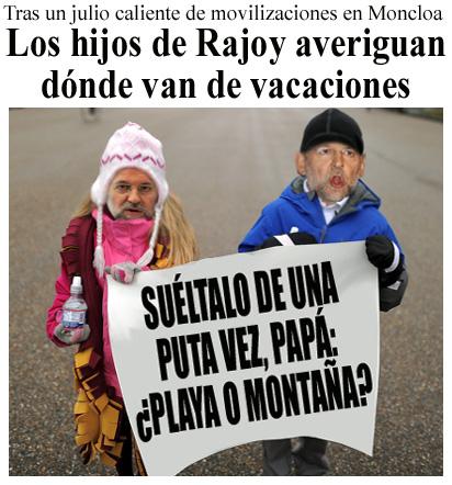 Rajoy habla claro